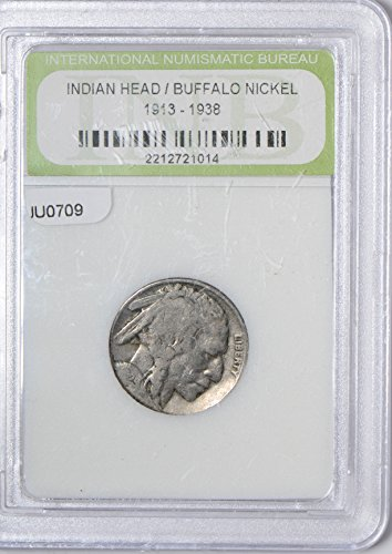 1913 IE JU0709 US Buffalo Nickel ~38 DE PO-01