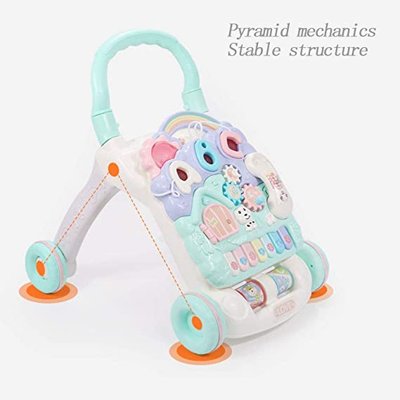 Xyanzi Juguetes para Bebés Walker para Niños Versátil Velocidad ...