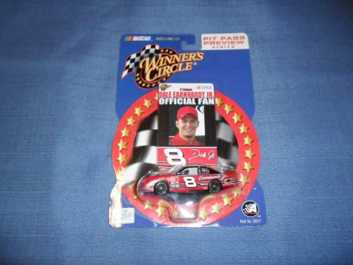 2002 NASCAR Winner's Circle . . . Dale Earnhardt Jr. #8 Chevy Monte Carlo 1/64 Diecast . . . Includes Offical Fan Collector's Card . . . Pit Pass Preview (Dale Earnhardt Collectors)
