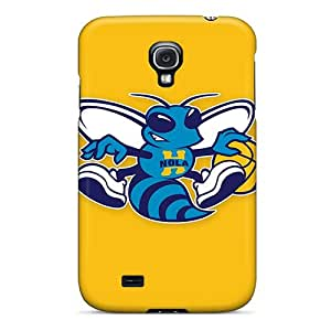 Rugged Skin Case Cover For Galaxy S4- Eco-friendly Packaging(new Orleans Hornets)