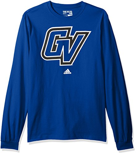 Valley State University (NCAA Grand Valley State University Adult men School Logo L/S Tee,2X-Large,Blue)