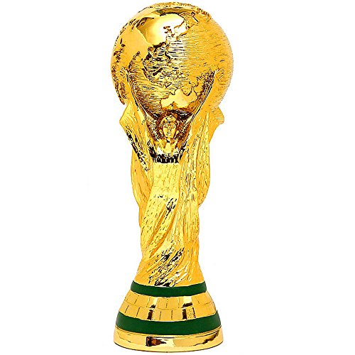 Hercules Cup trophy Soccer World Cup trophy model Soccer championship trophy fan souvenir (Trophy Cup World Replica)