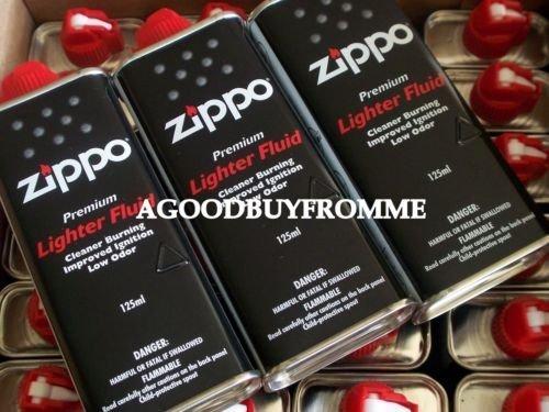 24 X GENUINE ZIPPO 125ml LIGHTER REFILL FLUID FUEL PETROL