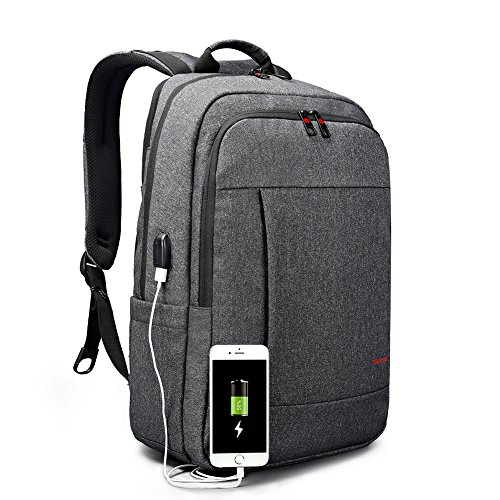 Tigernu Business Waterproof Laptop Backpack with USB Charging Port