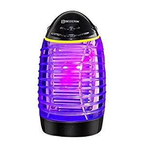 ISELECTOR Mosquito Killer Trap Indoor Bug Zapper Electric Insect Killer Fly Pests Killer Lamp