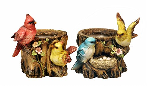Bird Planter (Bird Planter - Set of 2)