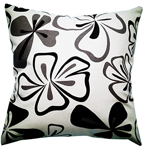 Multi-sized Both Sides Sketch Flower Printing Cushion Cover LivebyCare Linen Cotton Throw Pillow Case Sham Pattern Zipper Pillowslip Pillowcase For Dinning Room Kitchen Chair Back Seat