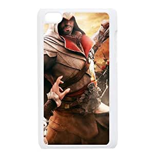 ipod 4 White phone case Assassins Creed Artell Fashion players preferred OKE9181601