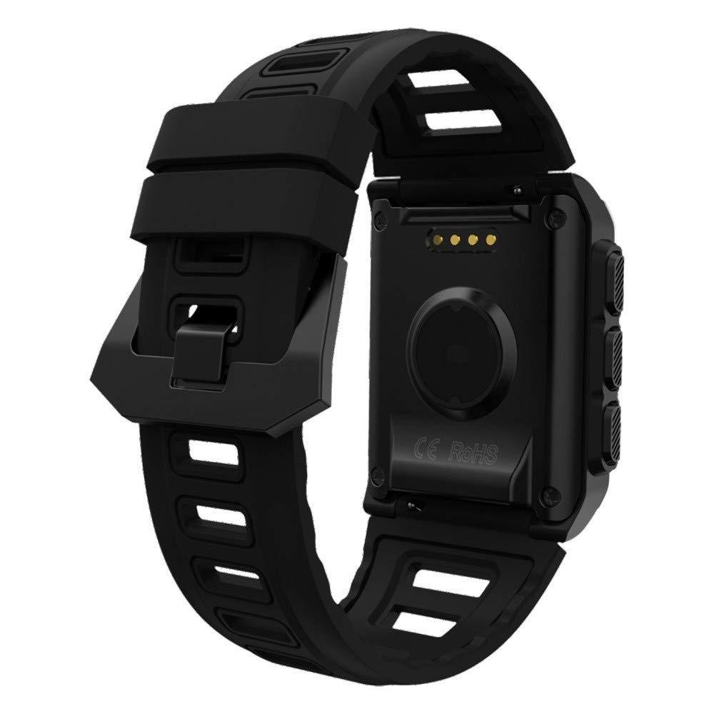 Lovewe Professional IP68 Waterproof Swimming Smart Watch Fitness Tracker Bluetooth GPS Wristband Colorful UI (Black) by Lovewe_Smart Watch (Image #3)