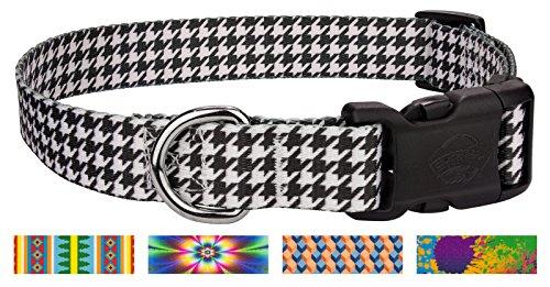 Houndstooth Collar (Country Brook DesignDeluxe Houndstooth Dog Collar - Medium)