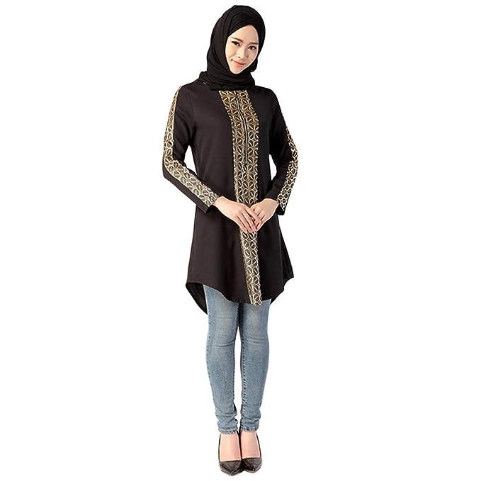 Hzjundasi Camisas Musulmanas Para Mujeres Dubai Kaftan Arab