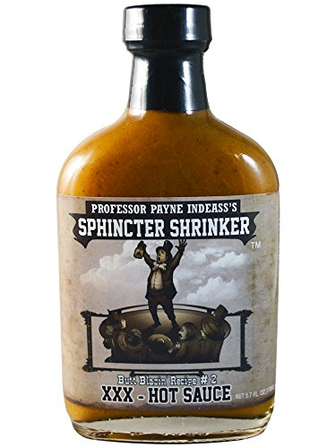 Sphincter Shrinker XXX Hot Sauce, 5.7 fl oz by Sauce Crafters Direct