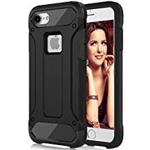 iPhone 6S Plus Case,AOOBOX Dual Layer Armor[Shockproof] Strong Guard Protection Series Case for Apple iPhone 6S Plus / iPhone 6 Plus(5.5 Inch) -Black
