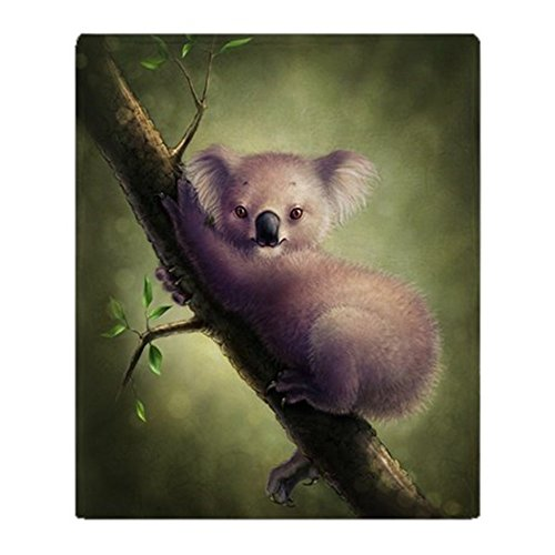 CafePress Koala Blanket Fleece Stadium
