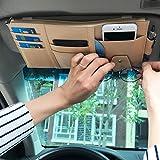 Vankcp Car Sun Visor Organizer, Auto Interior