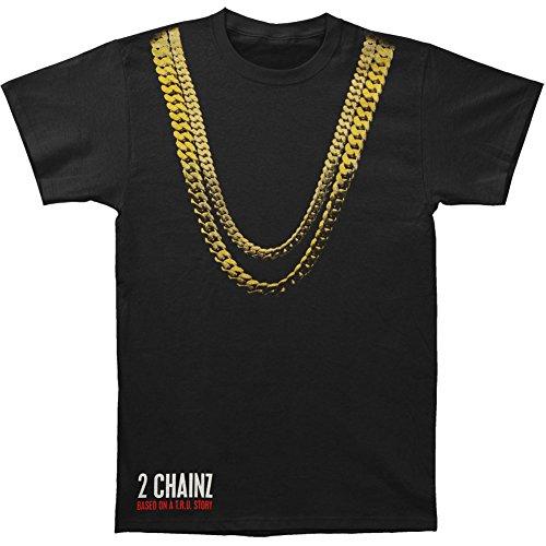 2 Chainz Men's Album Cover T-shirt Black