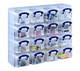 Really Useful Organiser, 16 x 0.14 Litre Storage