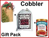 Cherry Cobbler Mix, with Fruit, in a Gift Bag