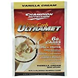 Champion Performance - UltraMet Low Carb - Vanilla Cream - Low Carbohydrate Meal Supplement - 56g