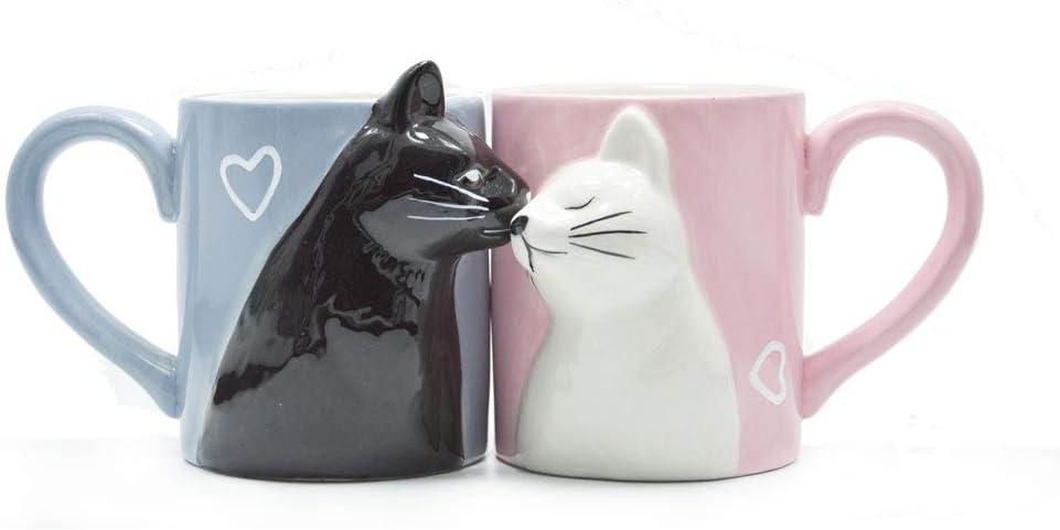 ejemplo de tazas de gato para parejas
