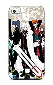 CaseyKBrown Scratch-free Phone Case For Iphone 5c- Retail Packaging - D Gray Man Characters