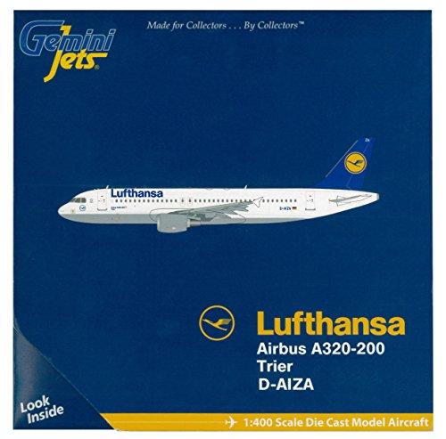 GeminiJets Lufthansa A320 Diecast Aircraft (1:400 Scale) (Boeing Jet Lufthansa)