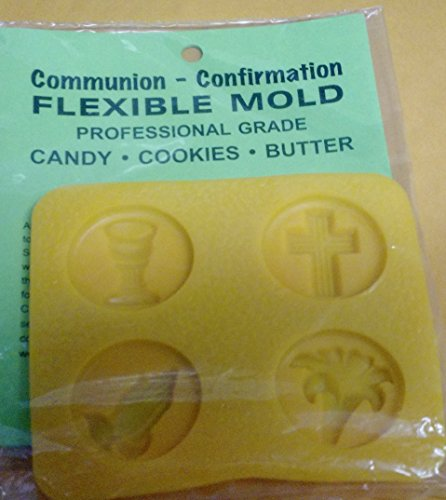 Communion, and Confirmation chocolate Candy Rubber Mold (Confirmation Molds Chocolate)