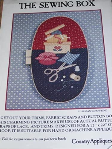 Download The Sewing Box Pattern For Oval Hoop Applique