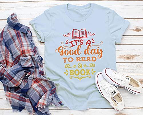 It's A Good Day To Read A Book Shirts, Read Shirt, Librarian Shirt, Book Lovers Shirt, Teacher Shirt, Reading Gifts, Trending Now T-Shirt, Long Sleeve, Sweatshirt, Hoodie