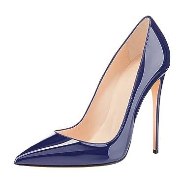 968748935397d6 EDEFS Damen Stilettos High Heels Damenschuhe Übergröße Spitze Zehen Pumps   Amazon.de  Schuhe   Handtaschen