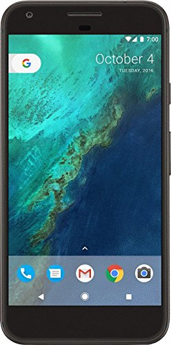 Google 32 GB Pixel Verizon and GSM Unlocked, Quite Black, 5 inch (Certified Refurbished)