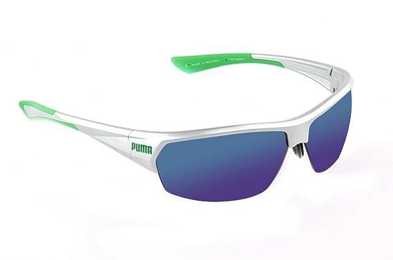 Puma - Gafas de sol - para mujer Plateado 1: Amazon.es: Ropa ...