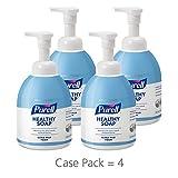 PURELL Healthcare Healthy SOAP Ultra Mild Foam, 535 mL Foam Hand Soap Pump Bottle (Pack of 4) – 5783-04
