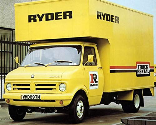 1976 Bedford CF Truck Factory Photo Ryder