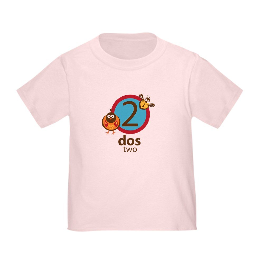 CafePress Dos Toddler T-Shirt Toddler Tshirt