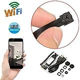 DANIU Mini Wireless Camera WIFI IP Pinhole DIY P2P Video Camera Support TF Card Audio