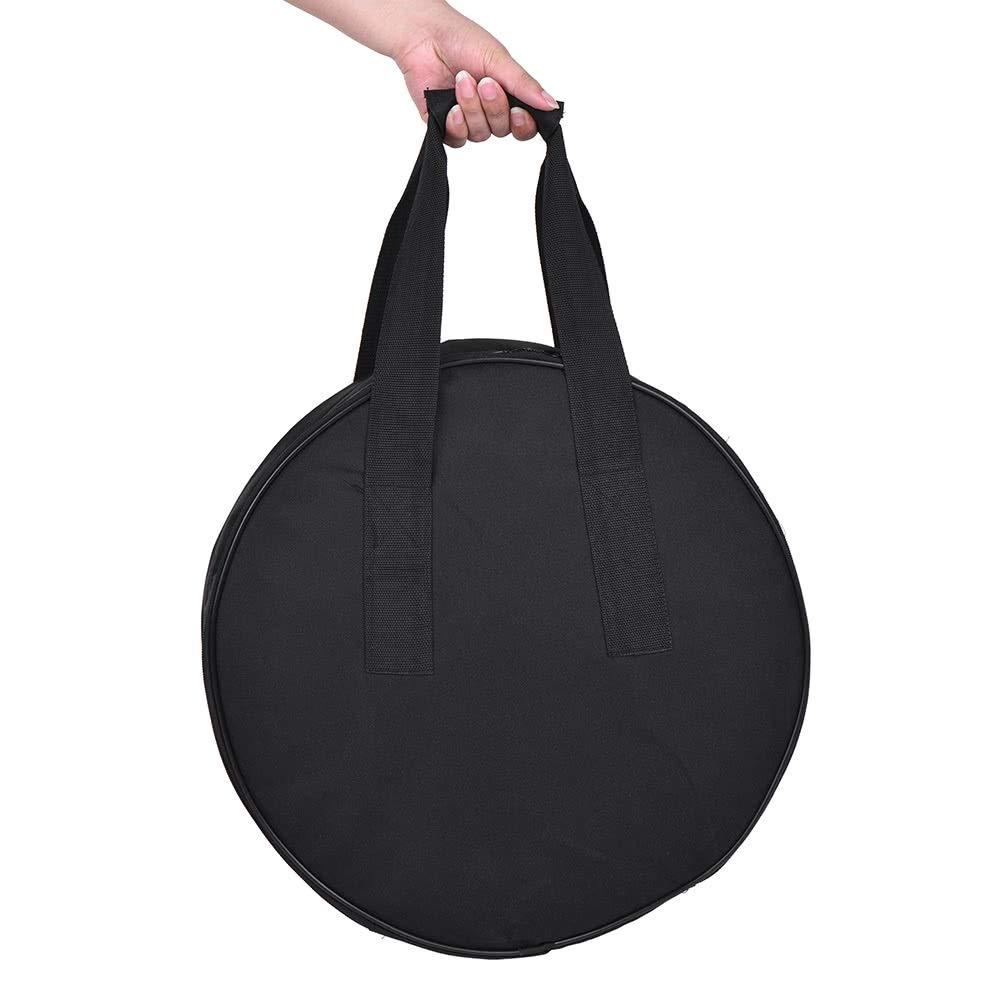 41cm Beauty Dish Carry Case Borsa Studio Equipment Borsa a due strati Design Drum Style con griglia a nido dape Divider per fotografi Colore: Nero