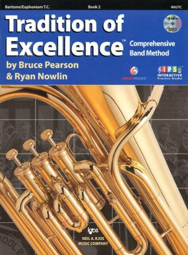 Read Online W62TC - Tradition of Excellence Book 2 - Baritone/Euphonium T.C. pdf epub
