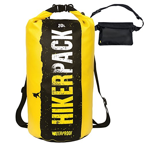 Hikerpack Waterproof Dry Yellow Backpack product image