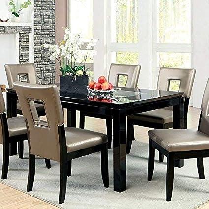 Amazon.com - 247SHOPATHOME IDF-3320T-7PC Dining-Room-Sets 7 ...