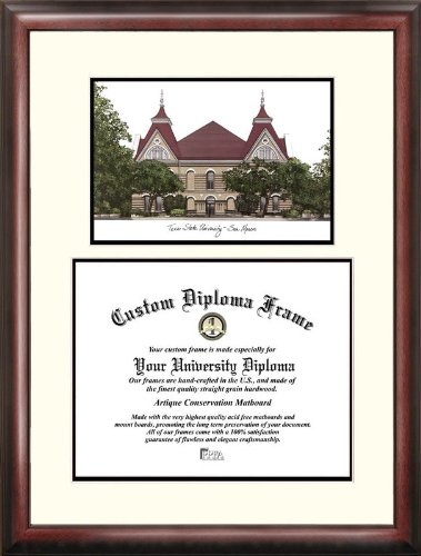 Texas State, San Marcos Scholar Diploma Frame by Campus Images