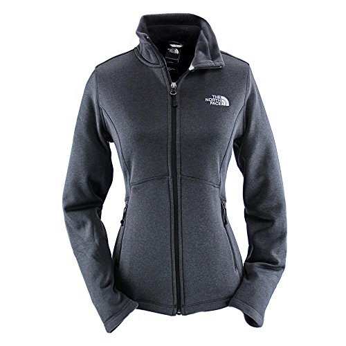 The North Face Women's Agave Jacket Outerwear, TNF Black Heather, SM - North Face Running Jacket