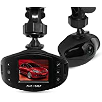 Dash Cam Driving Recorder Ispring Full HD 1080P 1.5 LCD 120° Car Camcorder with G-Sensor Motion Detection and Night Vision for any Car, Truck, or Bus
