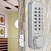 Home Security System Xinwoer Sliding Door Password Lock 1-11 Digirt Combination Door Latch for Kitchen Balcony