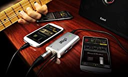 IK Multimedia iRig UA universal guitar effects processor and interface for Android devices
