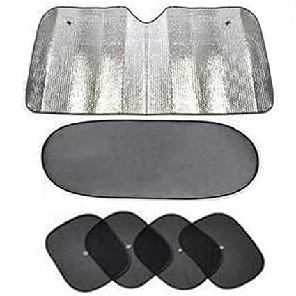 Visera solar para automóvil (6 piezas): persianas para cortinas para ...