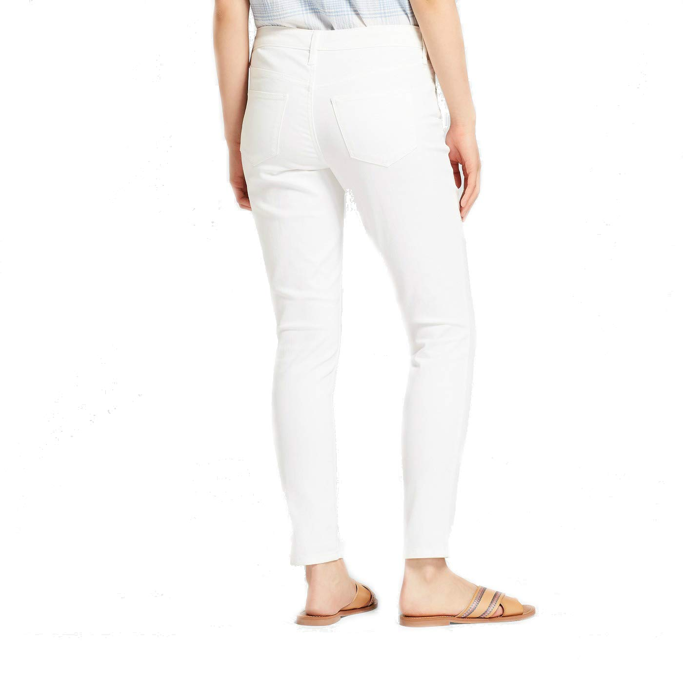 e4c382f68816f4 Universal Thread Women's Mid-Rise Skinny Jeans White at Amazon Women's Jeans  store