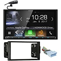 Kenwood DVD Bluetooth Receiver Android/Carplay/USB For 04-05 Saturn All-Models
