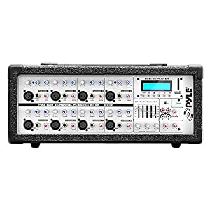 8-Channel Microphone System Powered Mixer &#8...