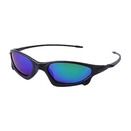 Lergo Gafas de Sol polarizadas para Hombre, Protección Deportiva, Visión Nocturna, Verde